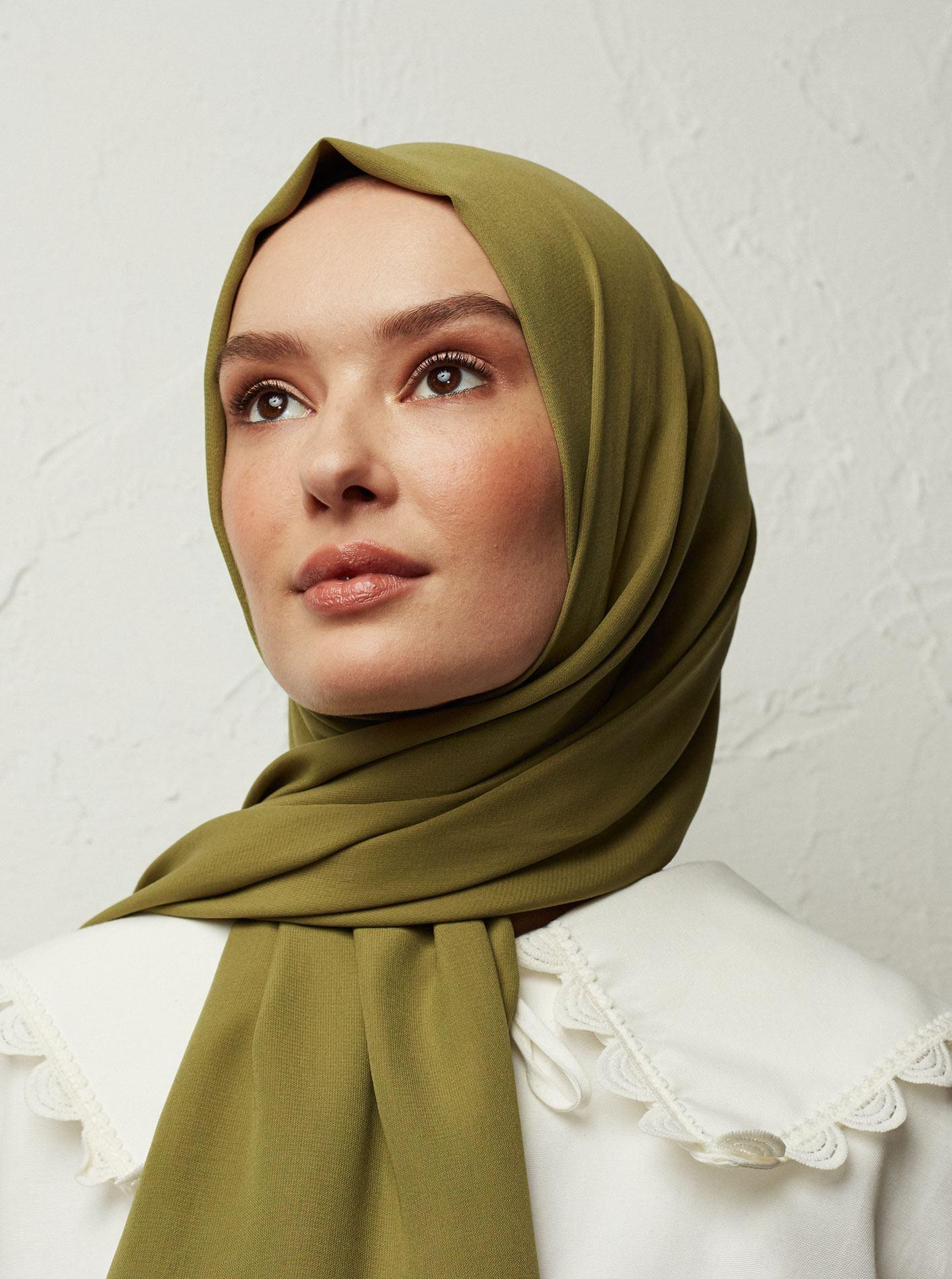 Medine Zijde hoofddoek scarves