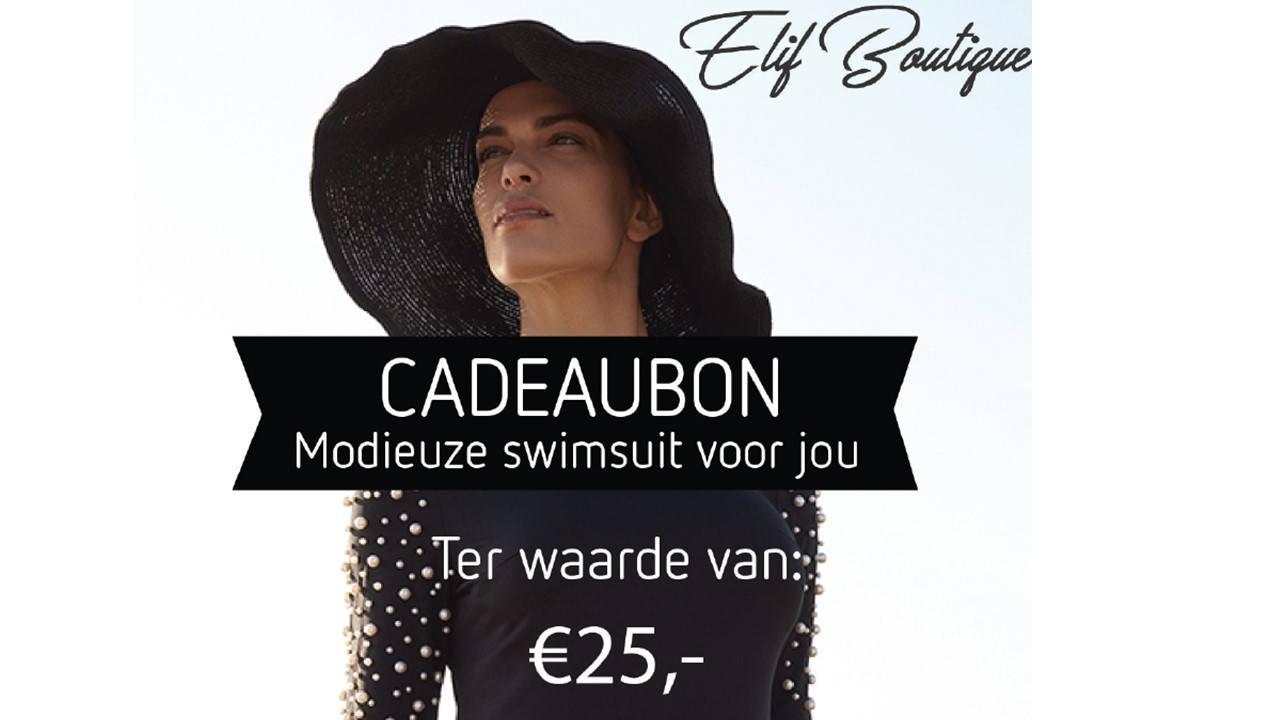 tegoedbon 25 euro