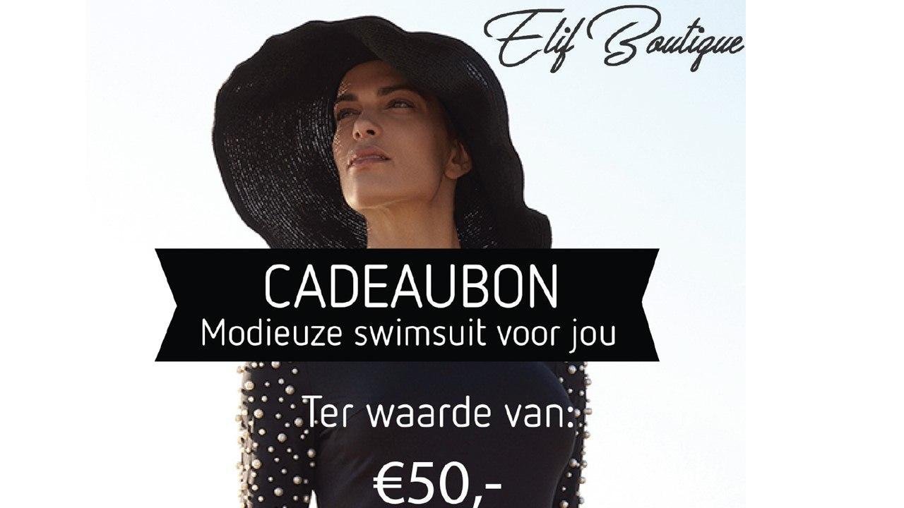 tegoedbon 50 euro